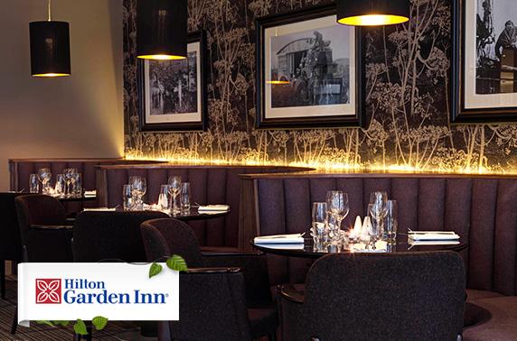 Sparkling afternoon tea Hilton Garden Inn Aberdeen itison