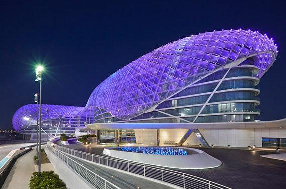 Abu Dhabi Grand Prix experience