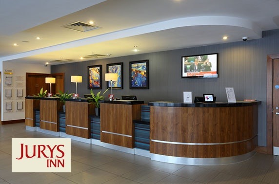 Jurys Inn Newcastle Gateshead Quays stay - £69