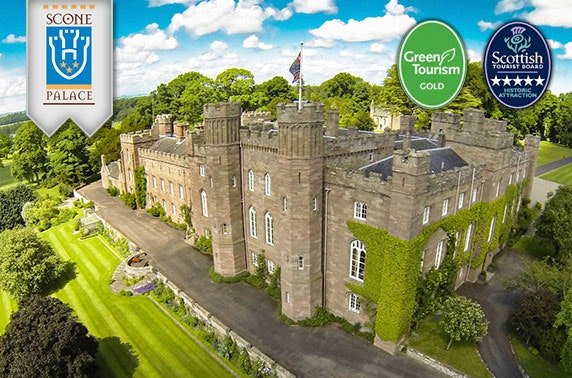 5* Scone Palace entry