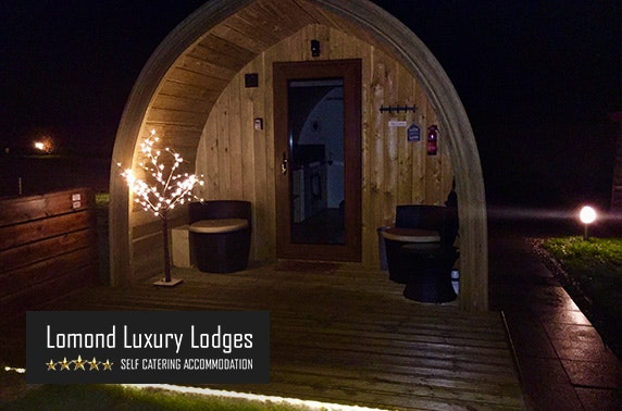 Lomond Luxury Lodges Stay With Private Hot Tub Itison