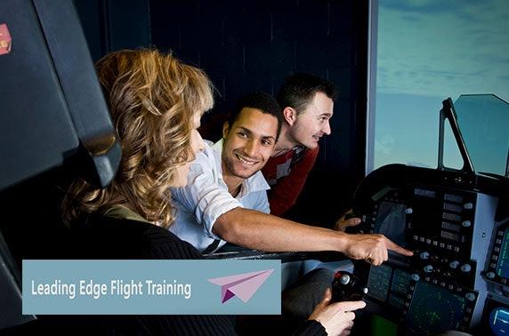 Flight simulator experience, Glasgow Airport