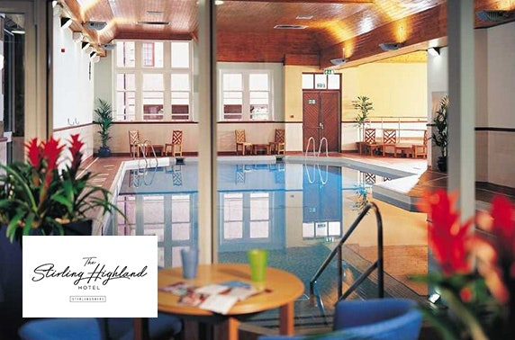 Luxury spa day, 4* The Stirling Highland Hotel
