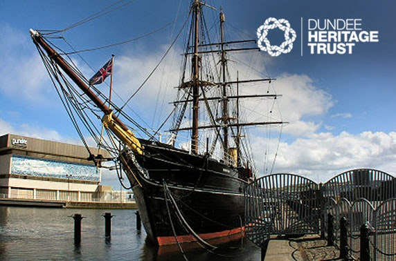 RRS Discovery private dining & tour