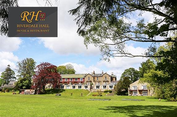 Riverdale Hall DBB, Northumberland