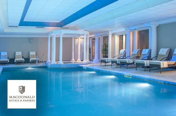 4* Macdonald Linden Hall spa day