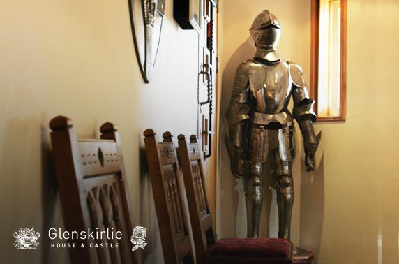 Glenskirlie Castle stay