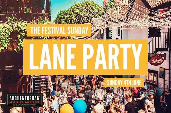 4th June Festival Sunday Lane Party, West End