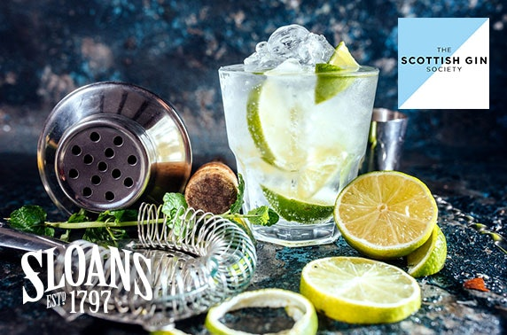 World Gin Day with the Scottish Gin Society, Sloans