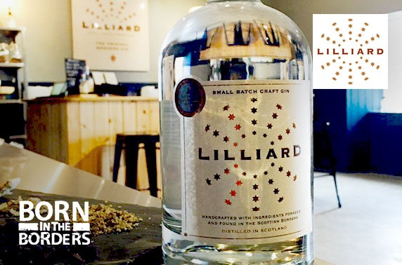 Lilliard Gin Distillery tasting tour, Jedburgh