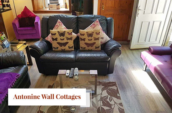 Cottage stay with hot tub at Antonine Wall Cottages