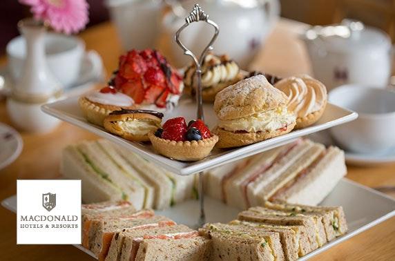 Macdonald Drumossie Hotel afternoon tea