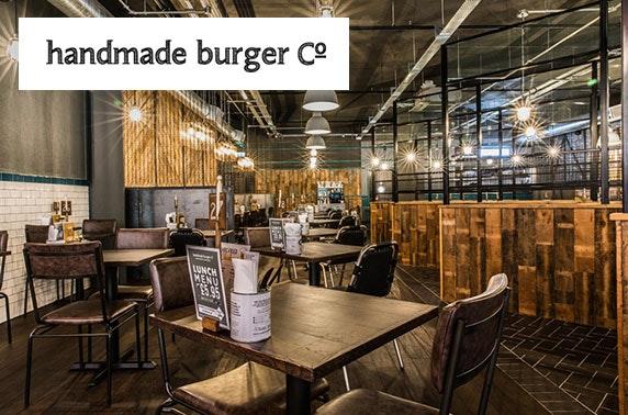 Handmade Burger Co burgers - £5pp