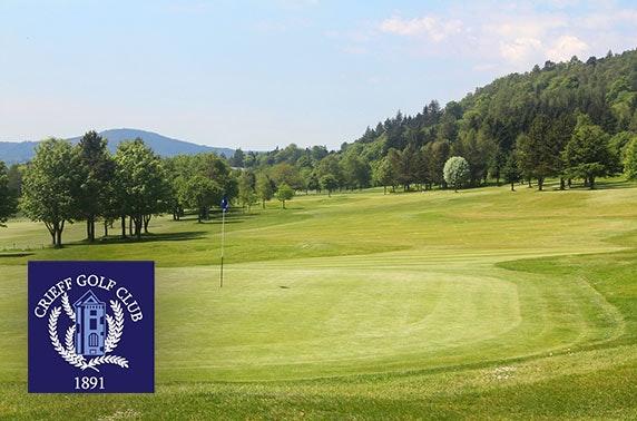 18 holes at Crieff Golf Club
