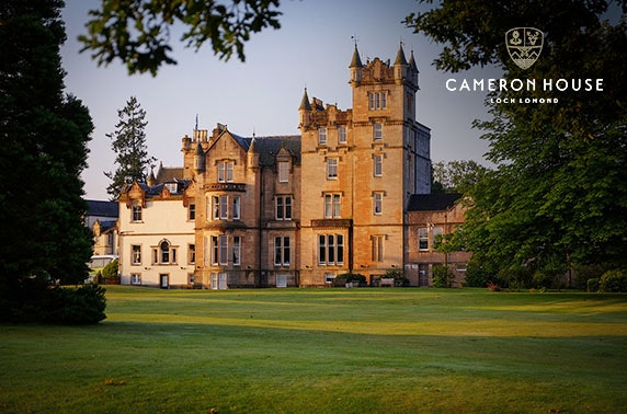 5* Cameron House luxury DBB