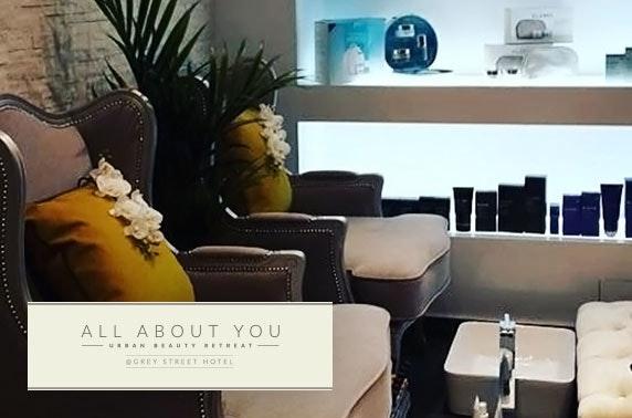 Grey Street Hotel Elemis treatments