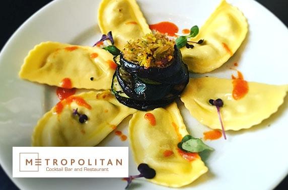Metropolitan dining & wine, Merchant City