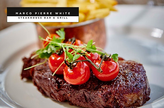 Marco Pierre White dinner & overnight
