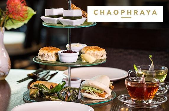 Chaophraya Thai afternoon tea, Buchanan St