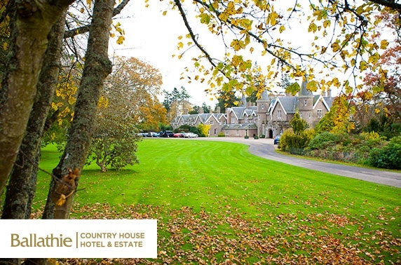 4* Ballathie House Hotel stay, Perthshire