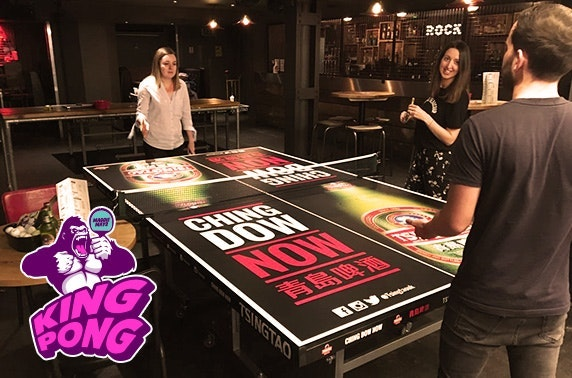 Maggie Mays ping pong & beer, Trongate