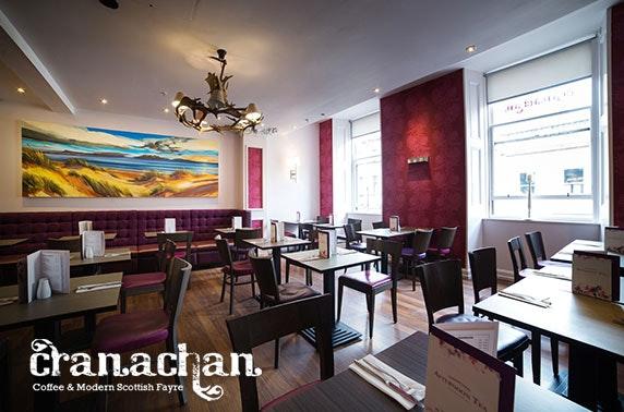 Cranachan Restaurant Glasgow
