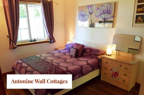 Hot tub cottage break at Hayloft cottage, Antonine Wall Cottages