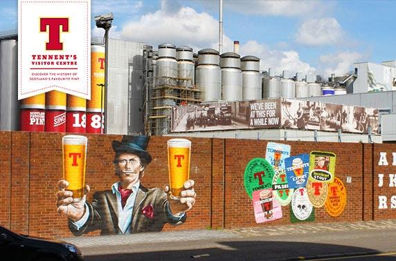 Tennent's Wellpark Brewery tour & beer flight