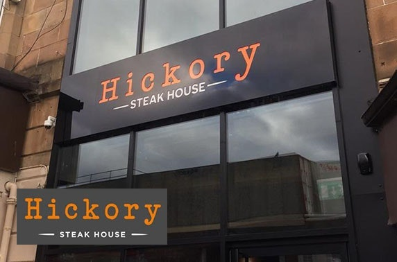 Cocktails & nibbles at new Hickory Steakhouse, Shawlands