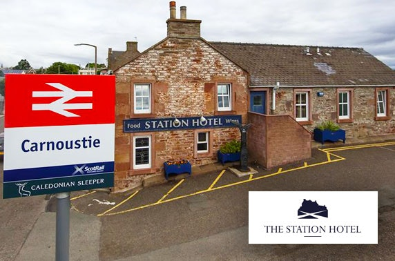 The Station Hotel stay, Carnoustie - £49