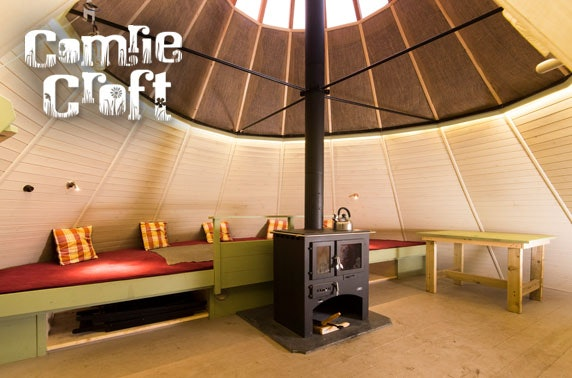 Comrie Croft tipi glamping