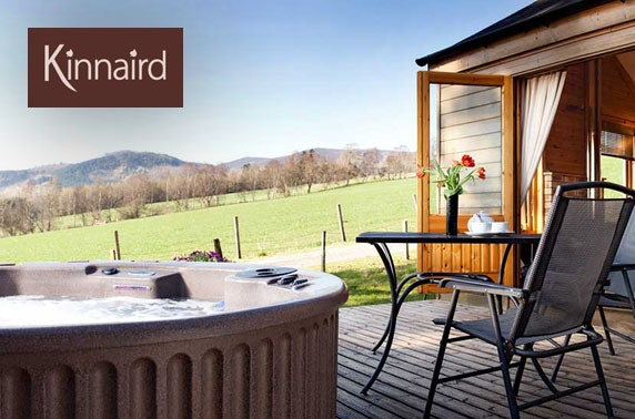 Pitlochry lodge break with hot tub - valid until Mar 2021