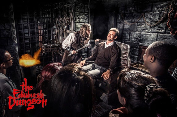 The Edinburgh Dungeon tickets or unlimited annual pass