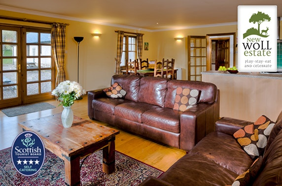 4* self-catering lodge break – from £25pppn