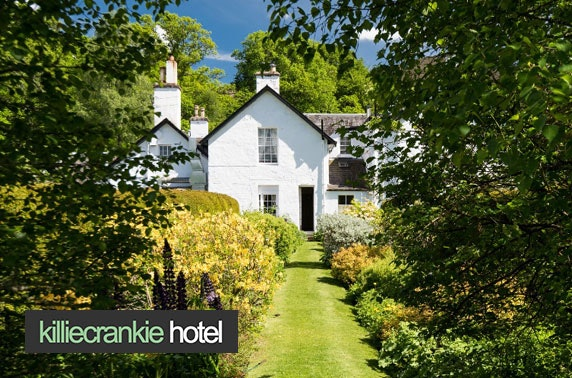 2 AA Rosette Pitlochry stay