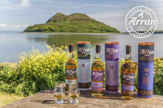 Isle of Arran Distillery tour & tasting