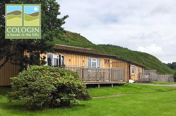 Lodge stay near Oban