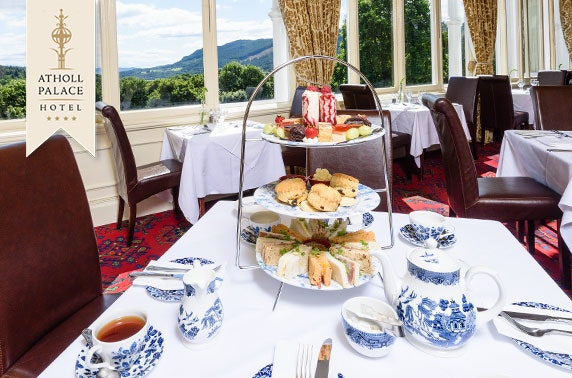 4* Atholl Palace Hotel afternoon tea