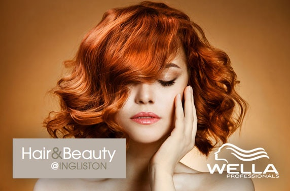 Hair treatments at Ingliston Country Club