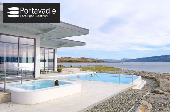 Award-winning Portavadie spa experience & lunch, Loch Fyne