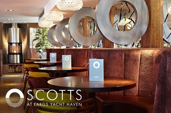 Scotts dining, Largs