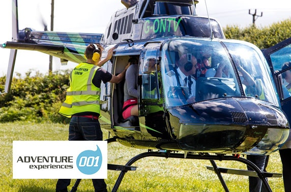 Helicopter flight - from £29