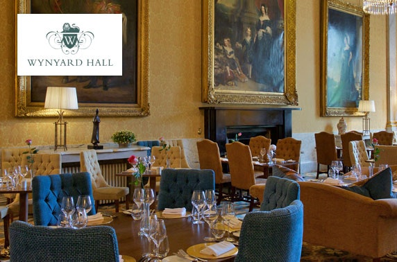4* Wynyard Hall spa treatment & afternoon tea