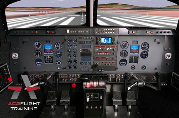Flight simulator experience, Perth Airport