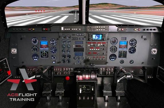Flight simulator experience, Perth Airport