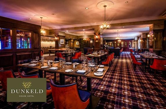 4* Dunkeld House Hotel, Perthshire - £99
