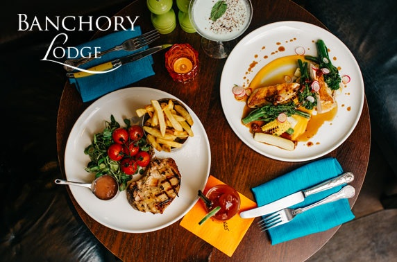 Award-winning Banchory Lodge lunch