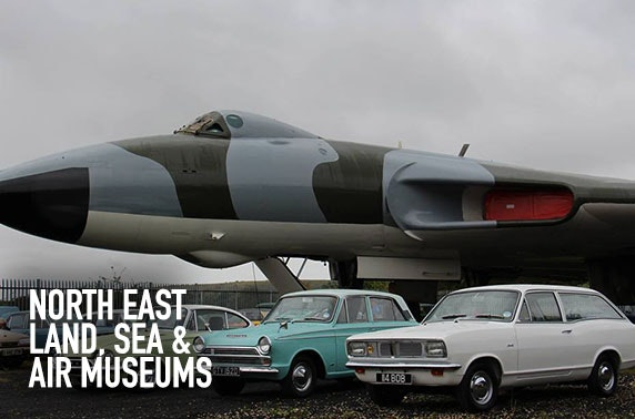 North East Land, Sea & Air Museums tickets