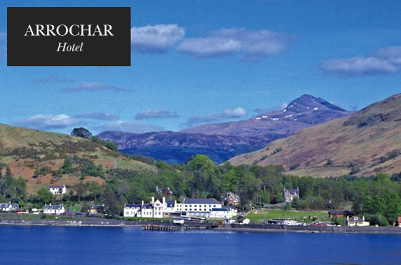 The Arrochar Hotel near Loch Lomond