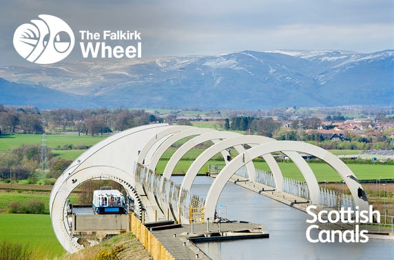 Falkirk Wheel boat journey
